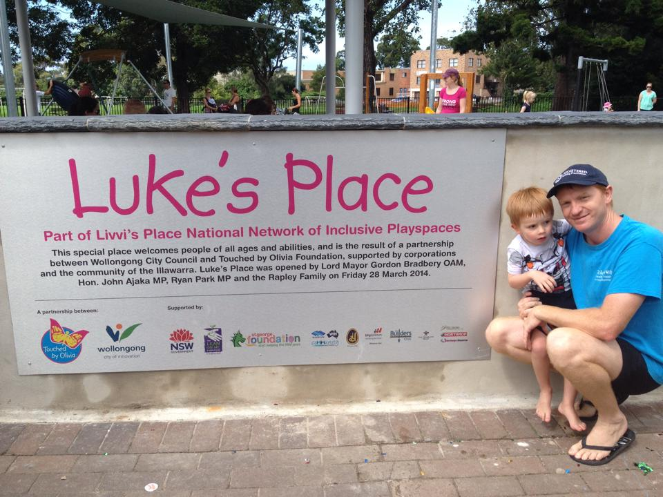 Luke's Place Signage