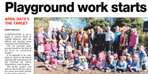 NDT - Playground work starts 15082012
