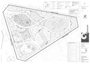 Victoria Park Dubbo Design Drawings
