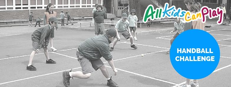All Kids Can Play Handball Challenge
