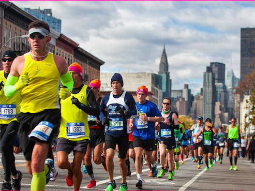 Run with us or Support us in the NYC Marathon